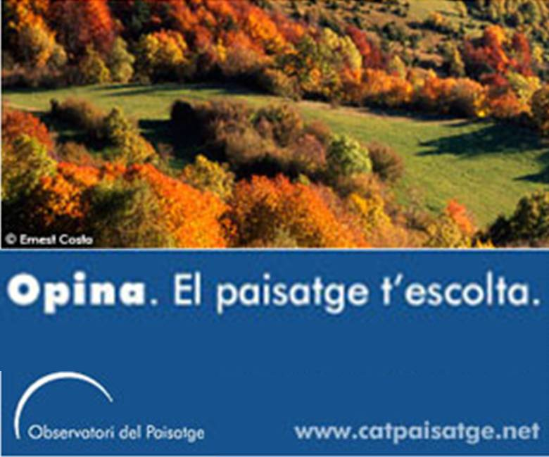 <i>Opina. El paisatge t'escolta</i>: a web questionnaire on the landscape catalogues of Catalonia