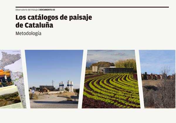 Portada Metodología de los catálogos de paisaje de Cataluña