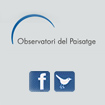 The Landscape Observatory of Catalonia in Social Networks