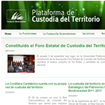 The Foro Estatal de Custodia del Territorio ('State Forum for Territorial Custody') launched