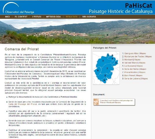 Web PaHisCat Priorat